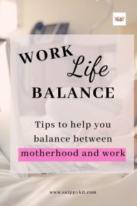 Momprenuer Tip || 5 Tips to Find a Work Life Balance