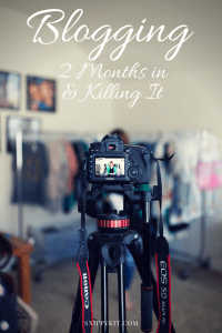 Snippykit || My Journey || 2 Months Blogging