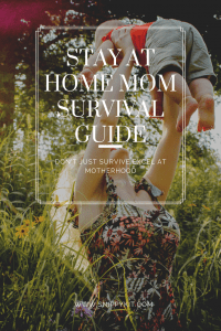 How to be an organized stay-at-home mom. Learn how to enjoy being a stay-at-home mom. Ultimate guide full of tips to keep you happy, healthy, and organized.