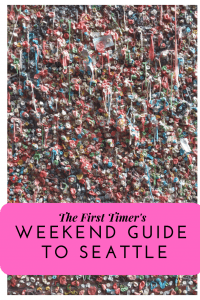Family Travel || Weekend Guide to Seattle