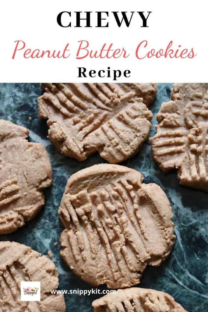The best chewy peanut butter cookies you will ever try.  This classic, easy peanut butter cookie recipe will be an instant hit with anyone you share it with.   #peanutbuttercookie #cookierecipe